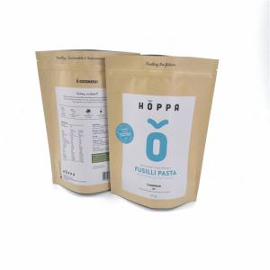 China Recyclable Kraft Customized Paper Bags Private Label Durable For Packaging Foods on sale
