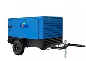 China General Construction Towable Air Compressor , Diesel Operated Air Compressor on sale