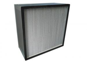 China High Temperature Resistance Clean Air HEPA Filter For Spraying Workshop on sale