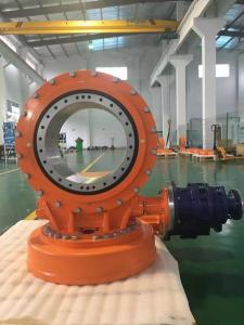 China slewing drive with 24v dc motor for CPV concentrated solar power generation on sale