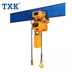 China 380V Three Phase Single Speed Electric Chain Hoist With Imported Load Chain and Schneider Contactor on sale