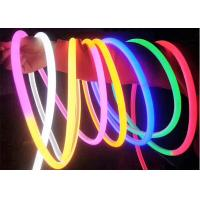 China Silicone Round 25mm Flexible Led Neon Strip 240Leds/M SMD2835 on sale