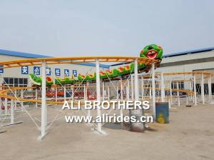 China amusement park children ride track train pulley Roller Coaster for sale on sale