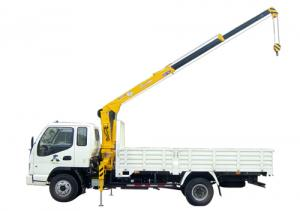 China QYS-2IIB  stiff boomed truck-mounted crane 2 tons lifting capacity on sale