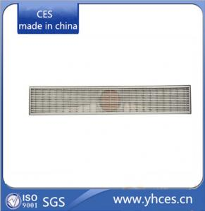 China Stainless steel linear floor grating & Linear Floor Drain on sale