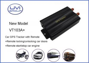 China VT103A+ Quad Band Car GPS Trackers For Vehicle Fleet With Geo - Fence , Supports SMS / GPRS on sale