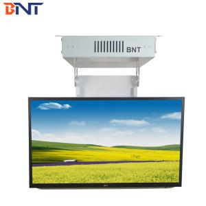 China white max 105degree flip angle ceiling flip up tv lift with air vents design suitable for within 55 inch tv TCL-2 on sale