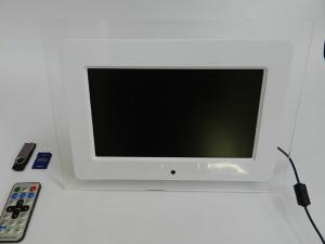 China Beautiful 10 Inch Acrylic Wedding Anniversary LCD Digital Photo Frame With 2 Speakers on sale