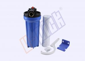 China PVC Silicone PP Filter Housing / Blue Water Filter Housing CE Certification on sale