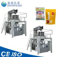 Reliable Rotary Pouch Packing Machine / Zipper Pouch Packing Machine For Granules