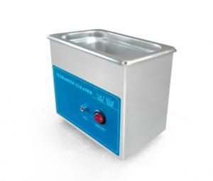 China Heated Ultrasonic Glasses Cleaner With Mechanical Control Small Capacity on sale
