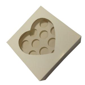 China Wholesale packageing brown cupcake boxes with clear window,cupcake boxes,12 cupcake box on sale