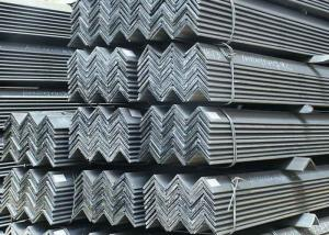 China Structural Unequal Leg Angle Profile Steel , Hot Rolled Standard Steel Angles on sale