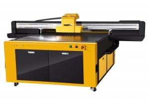 China Metal,Ceramic,Glass,Wood,Plastic,Pvc UV Flatbed Printer 2.5x1.3m RICOH GEN4/GEN5 on sale