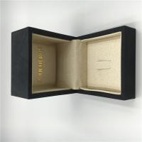 Ring Luxury Jewelry Box Fine Fabric With Customized Size / Color