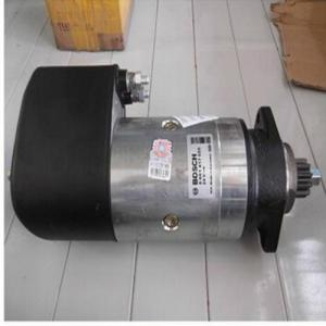 China OEM 0001416032 Bosch Starter Motor , Black Car Parts Starter Motor 24V/5.4KW on sale