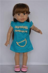 China doll making supplies/vinyl doll heads and hands/custom american girl doll box on sale