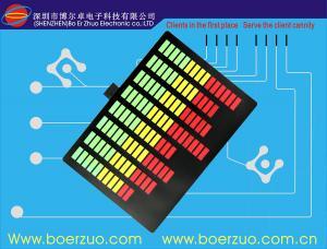 China Scratch Resistant polyester Membrane Sticker Custom Membrane Keypad on sale