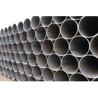 Welded ERW Steel Pipe Thickness 1.5mm - 40mm For Transport Oil / Petrol / Water
