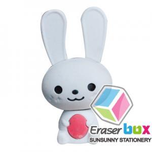 China SEA050 Rabbit shaped animal TPR shaped eraser, animal shaped erasers on sale