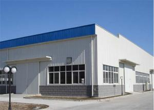 China Pre Manufactured Light Steel Structure Warehouse With EPS / Rockwool / PU Insulation on sale