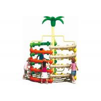 China Lovely Plastic Climbing Frame Anti Static Apply To School Exercise Training on sale