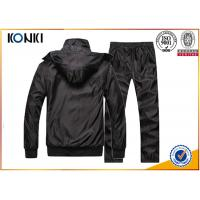 Sport Uniform Custom Hooded Sweatshirts With Black Color Fashion Style