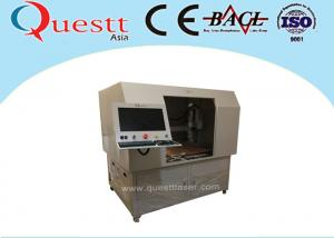 China Deep 50W CNC Auto 3 Axis Laser Marking Engraving Machine With Big Table Customized Jig on sale