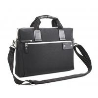 Black Cool Men Business Laptop Bags with One Shoulder Strap and Top Grab Handle