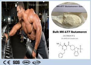 China Losing Fat Sarms Bodybuilding Supplements Nutrobal Mk 677 Powder CAS 159752-10-0 Ibutamoren on sale