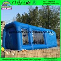 QinDa inflatable paint booth,inflatable spray booth,inflatable car spray/paint tent for sale