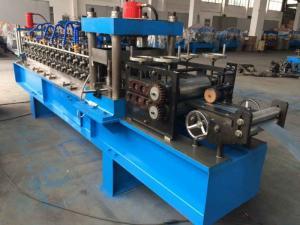 China 10m/Min Steel Roll Forming Machine , C Channel Roll Forming Machine With Servo Motor on sale