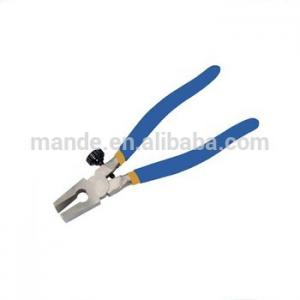 China MDQ11 Cutting Hand plier Straight Jaw Glass Cutters for Glass & Stained Glass Art on sale