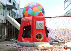 China Candy Machine Inflatable Air Bouncer / Inflatable Dome Jumpung Castle on sale