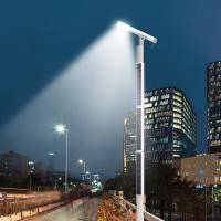 China Customized Pole Height All In One Integrated Solar Street Light MONO Solar Panel on sale