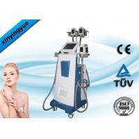 Non - Invasive 4 Handles Cryolipolysis Body Sculpting Machines 800w