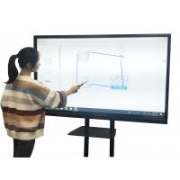 China 10 Point Touch Screen Interactive Whiteboard With Teaching Software High Compatibility on sale