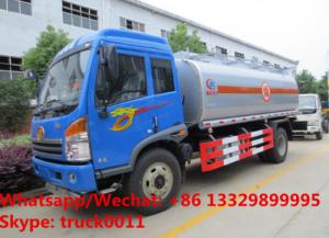 China 2018s best price customized FAW RHD 7cbm Oil bowser vehicle for sale, Wholesale price FAW RHD fuel tank delivery truck on sale