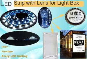 China CE/ROHS listed 12V/24V led backlight strip SMD 3030 cuttable led light strip lens backlit on sale