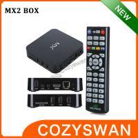 Remote Control Dual Core XBMC Amlogic TV BOX Smart HDMI Mini PC DC 5V 2A Android 4.2.2