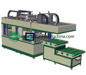 China réduisez en pulpe la machine de formation thermique pour faire des produits de pulpe de papier on sale