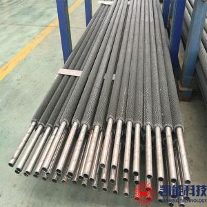 China Carbon Steel Pin Tube Boiler Parts / H Spiral Fin Tubes Multi Size Available on sale