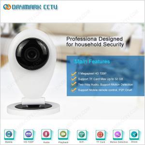 China 1MP WIFI Wireless Plug and Play IP Baby Monitor Camera on sale