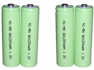 China NIMH   1.2V AA 1200mAh NIMH Rechargeable Battery on sale