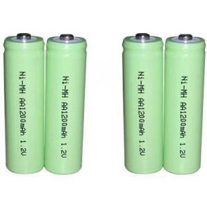 China NIMH   1.2V AA 1200mAh NIMH Rechargeable Battery on sale