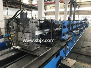 China High Speed Hat Roll Forming Machine / Roll Forming Equipment For Solar Stands on sale