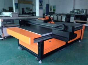 China Flatbed Digital Printer, wood, glass, crystal, ABS, acrylic, metal, stone,leather, cotton on sale