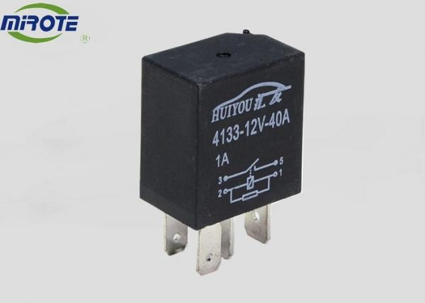 Waterproof 4 Pin Relay Suitable For Cars Fan With Black ... on
