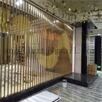 China Malaysia metal room divider stainless steel screen for hotel projects on sale