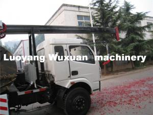 China High quality mobile drilling rig fast drill on rock on sale